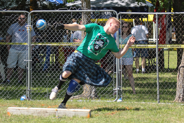 Highland games events run all day April 29-30 at Iron Thistle in Yukon. (United Scottish Clans of Oklahoma / provided)