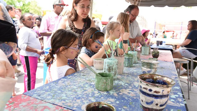 The festival offers creative experiences for the entire family and features several youth-friendly make-and-take opportunities. | Photo provided