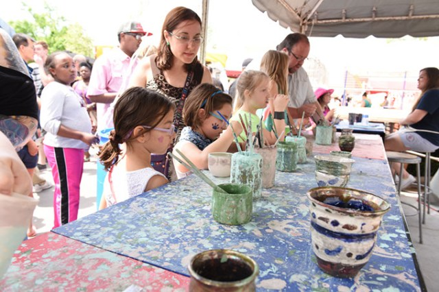 The festival offers creative experiences for the entire family and features several youth-friendly make-and-take opportunities. (Provided)