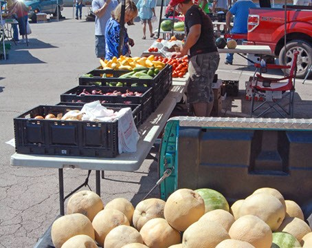 Norman Farmer's Market, summer produce in this file photo from 8-3-2011.  mh