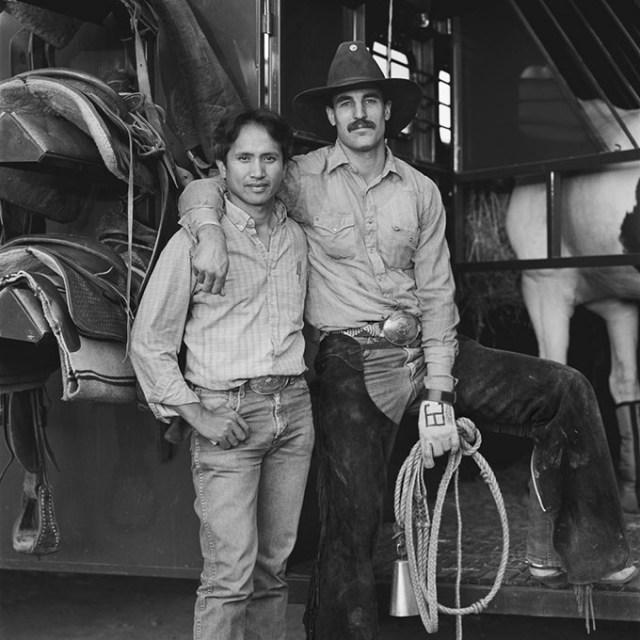 Brian Cornell and Albert Rulloda, Hayward, CA 1989 (Blake Little / provided)