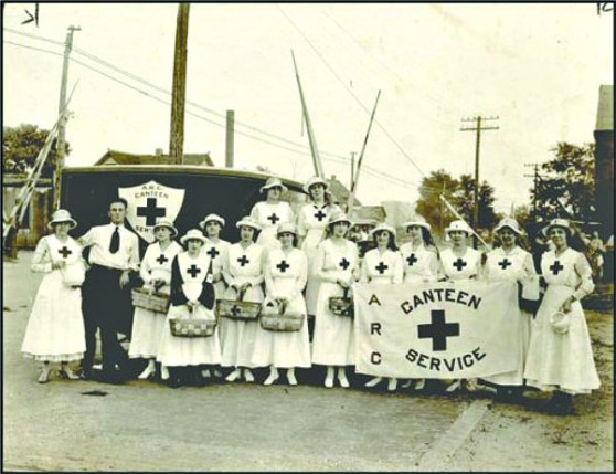 American Red Cross Canteen Service in the early days (Associated Press / Oklahoma Historical Society / provided)