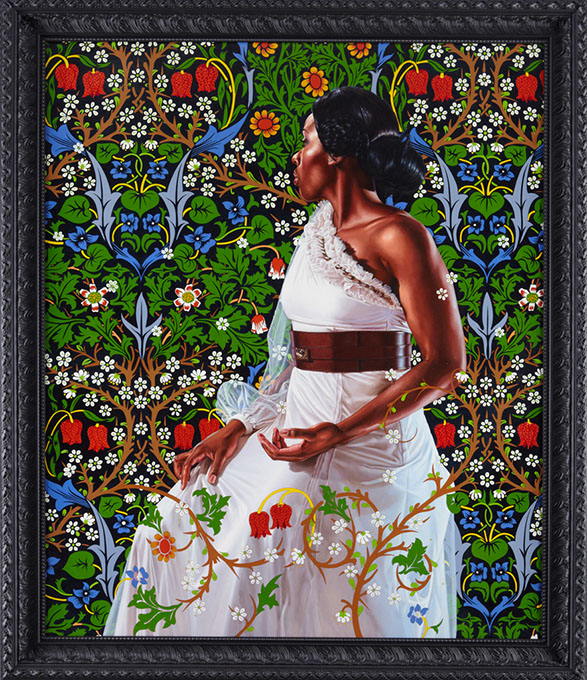 """""""Mrs. Siddons"""" (Kehinde WIley / Oklahoma City Museum of Art / provided)"""