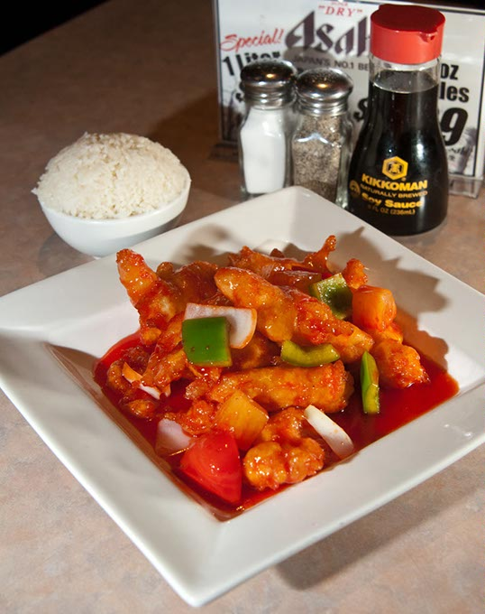 Sweet and sour white fish filet at Grand House Asian Bistro (Gazette / file)