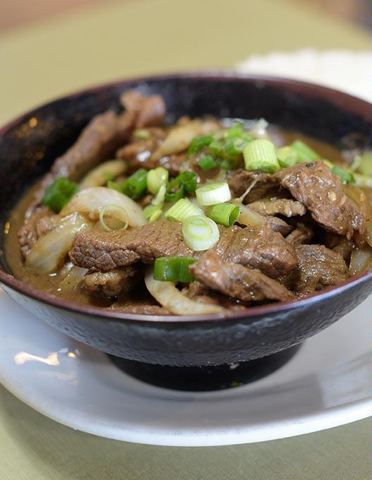 <em>Bistek</em> at Chibugan Filipino Cuisine in Del City (Garett Fisbeck / file)