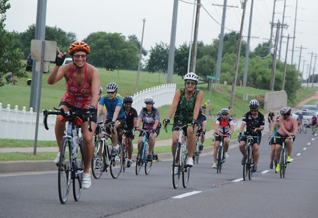 The 22nd Annual Norman Conquest features bike rides from 10 to 64 miles long. (Bicycle League of Norman / provided)