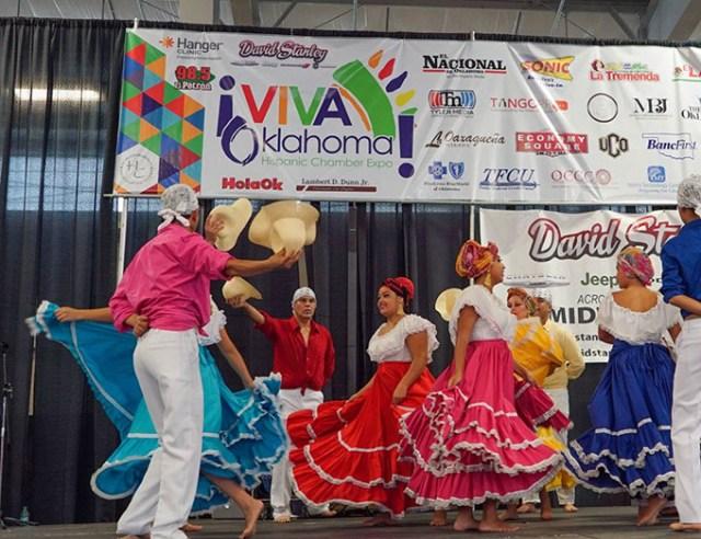 Latino culture and community is celebrated at Saturday's Saturday's <em>¡Viva Oklahoma!</em> Hispanic Chamber Expo and Career Fair at Plaza Mayor at the Crossroads. (Tango PR / provided / file)