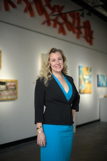 Kendra Horn, founder of Oklahoma Women Lead and former Sally's List executive director, declared her candidacy for Oklahoma's 5th Congressional district last week. (Garett Fisbeck / file)