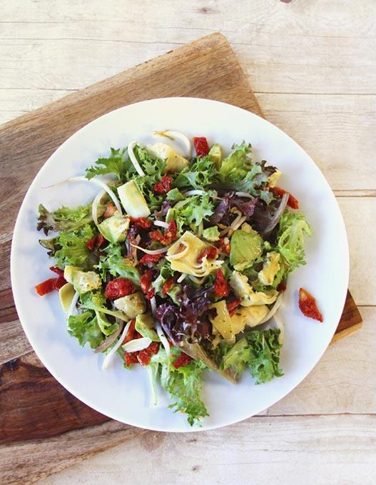 Plaza Skinny salad at Cool Greens (Provided)