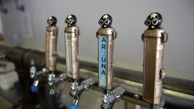 Anthem Brewing Company serves an array of beers in its taproom at 908 SW Fourth St.
