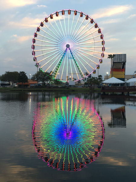 Sky Eye Wheel is one of this year's new attractions at Oklahoma State Fair. (Oklahoma State Fair / provided)