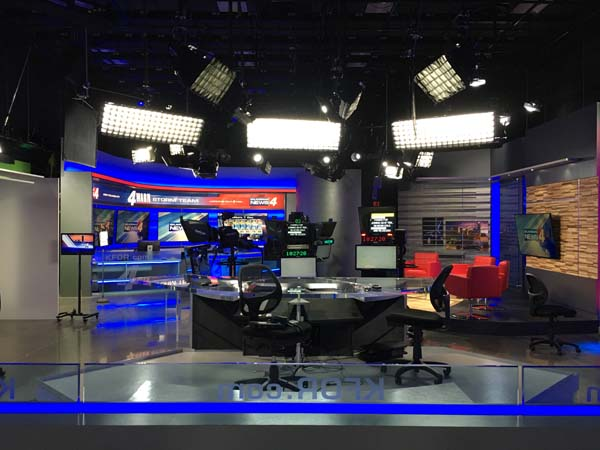 KFOR's news studio (provided)