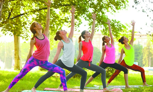 YogaFest 2017 features classes, music and food trucks. (bigstock.com)