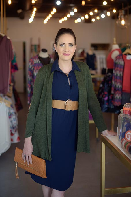 Rachael Gruntmeir of The Black Scintilla said her shop will focus on exciting new textures in its fall line. (Garett Fisbeck)