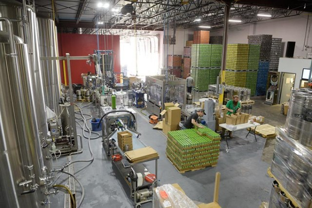 COOP's relocation to a new facility in southwest OKC expanded the brewer's capacity. (Garett Fisbeck)