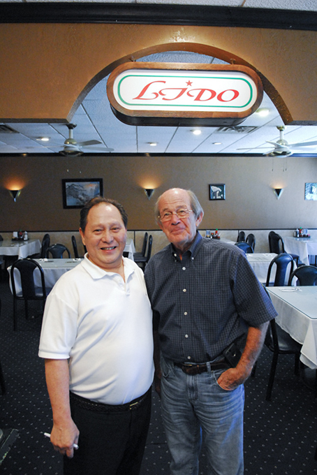 Paul Ly and one of Lido Restaurant's best customers, Phil Roberts. (Gazette / file)