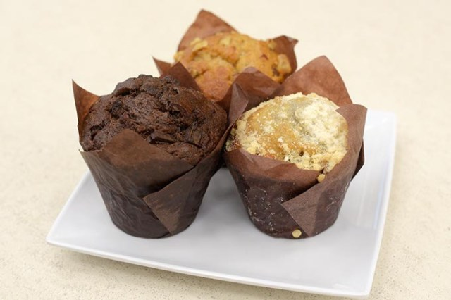 All About Cha offers an array of breakfast items including muffins, toast, bagels and yogurt parfaits. (Garett Fisbeck)