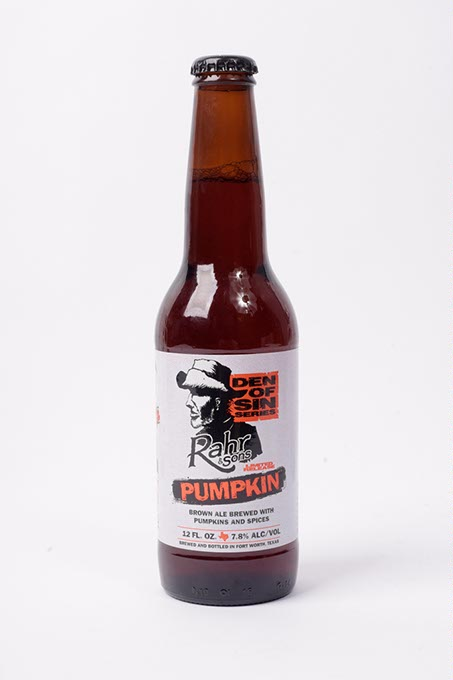 Rahr & Sons Brewing Company Pumpkin Brown Ale (Garett Fisbeck)