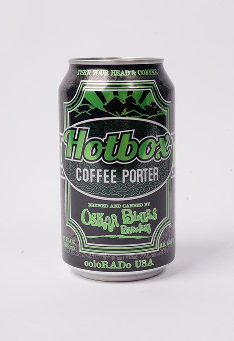 Oskar Blues Brewery Hotbox Coffee Porter (Garett Fisbeck)