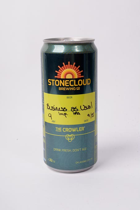 Stonecloud Brewing Co. Business As Usual Imperial IPA with rye (Garett Fisbeck)