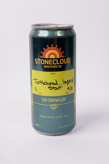 Stonecloud Brewing Co. Turtlehead Coffee Imperial Stout (Garett Fisbeck)