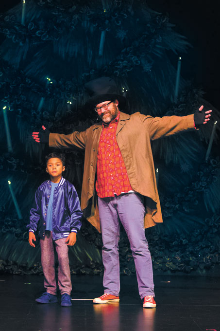 Daxton Anderson and James Grigsby have starring roles in RACE Dance Company's performance of <em>Hip Hop Nutcracker</em>. (RACE Dance Company / provided)