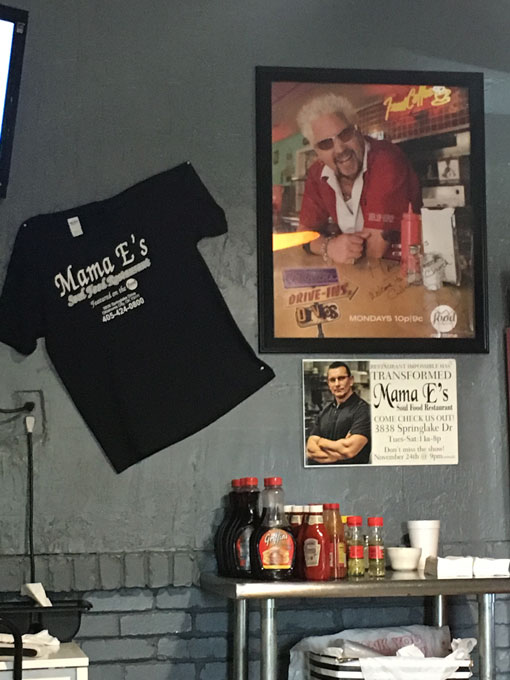 Mama E's is the only restaurant featured on both <em>Diners, Drive-Ins and Dives</em> and <em>Restaurant: Impossible</em>. (Jacob Threadgill)