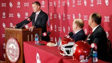 Lincoln RIley was introduced as the new University of Oklahoma head coach on June 7. | Photo University of Oklahoma / provided