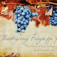 Thanksgiving Proclamation and Praise