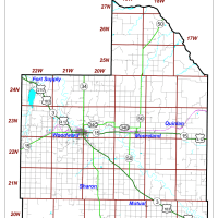 Woodward County PCT Map