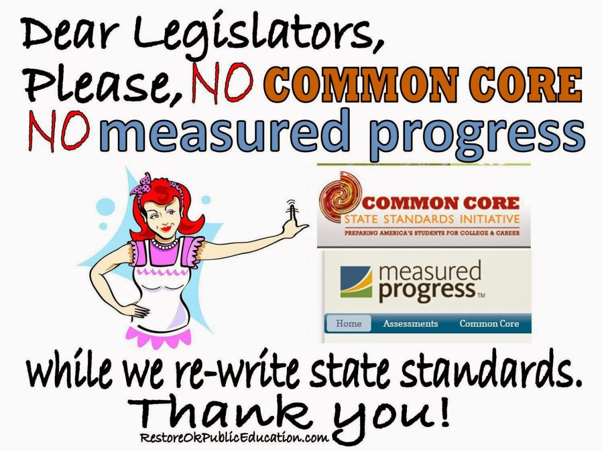 No Common Core, No Measured Progress During Re-Write of State Standards