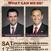 Government Overreach What Can We Do? - Senators Dahm and Brogdon Presentation in Skiatook