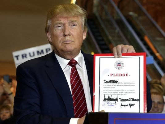 The RNC Loyalty Oath: Trump Broke Faith Last March