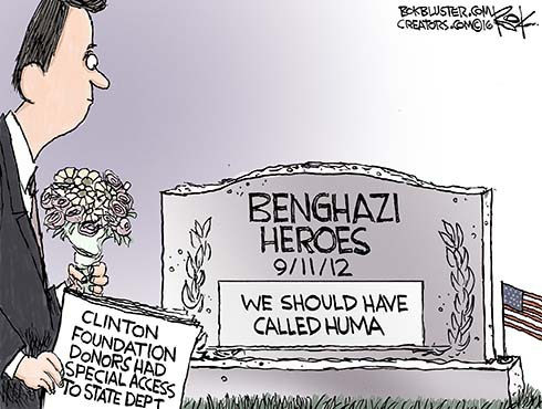 No Clinton Foundation Access for Benghazi Dead