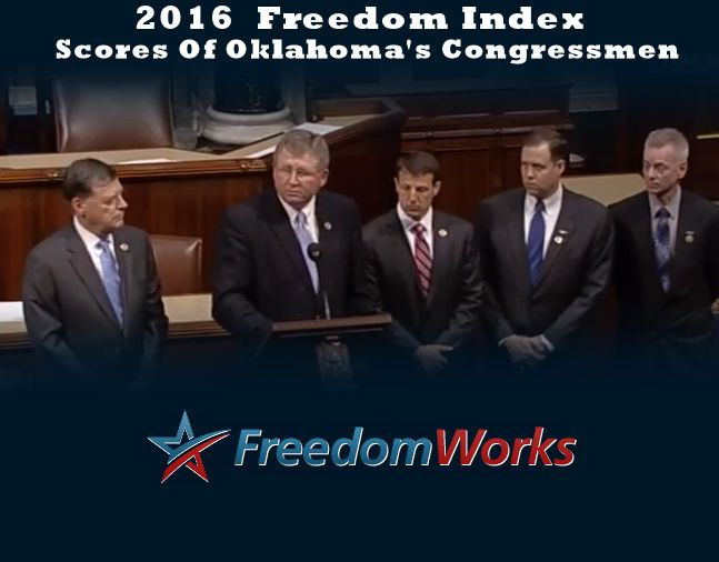 Oklahoma Congressional Delegation Has Hits & Misses On Freedom Index Scorecards