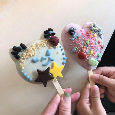 アイスはつくるともっと美味しい! 「ブルーシールアイスパーク」でアイスバーデコ体験