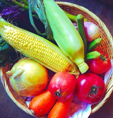 温野菜と野菜