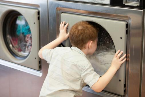 ニューヨーク コインランドリー 洗濯