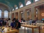 世界最大級のアップルストアがあるニューヨークのグランド・セントラル駅