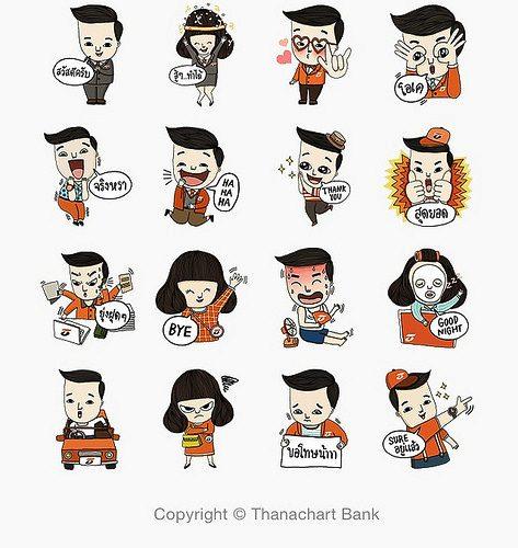 タイ LINEスタンプ 海外