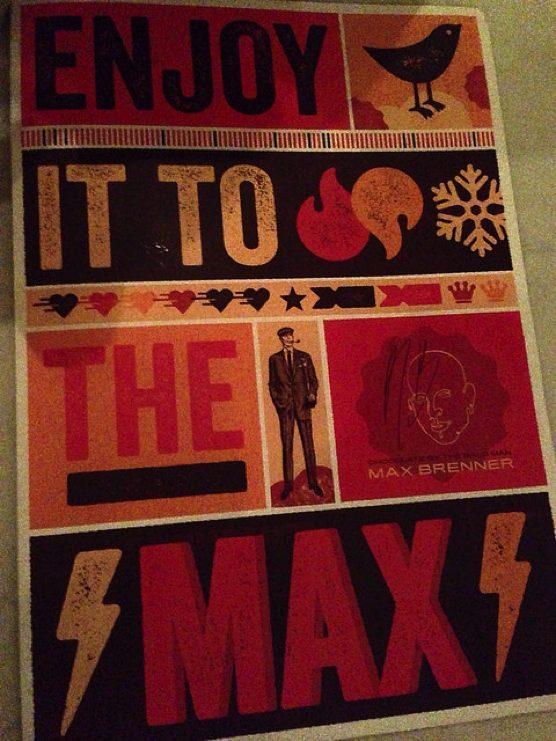 Max Brenner (マックス・ブレナー) ニューヨーク チョコ