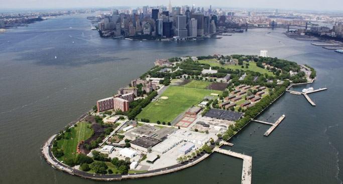 ニューヨークの避暑地 ガバナーズ島  Governors Island