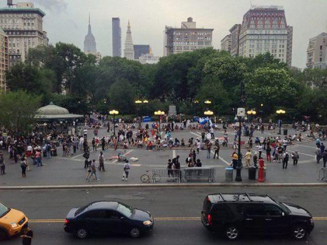 ニューヨーク   ユニオンスクエア  グリーンマーケット