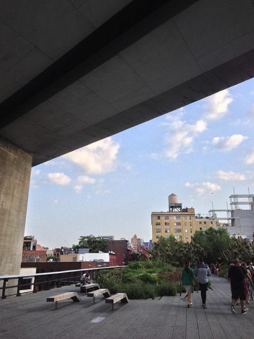ニューヨーク 空中庭園 ハイライン