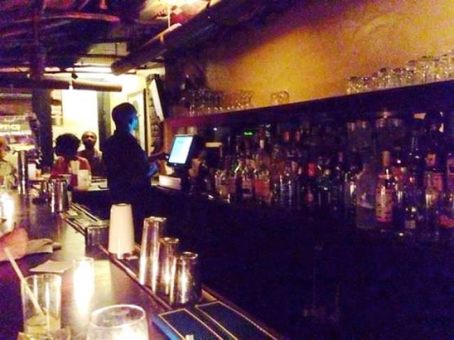ニューヨーク Sugar Bar カウンター