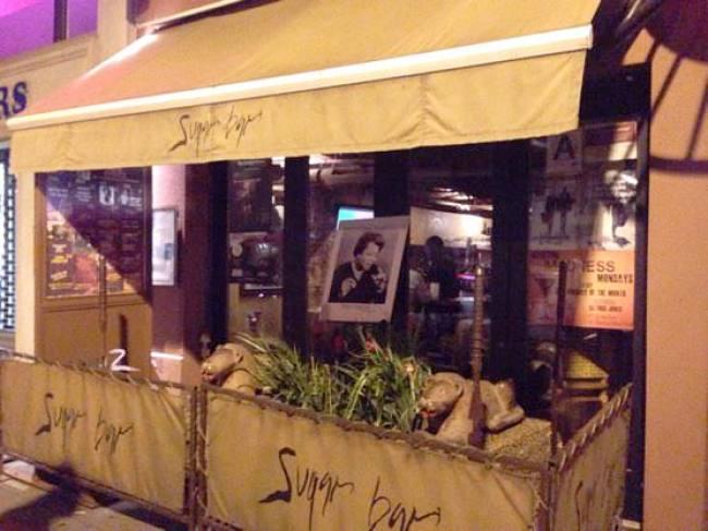 ニューヨーク Sugar Barの外観