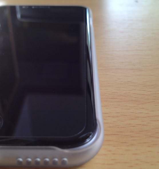 パワーサポート iPhone6エアージャケットセット(クリアマット)Air Jacket set PYC-70購入レポート 側面