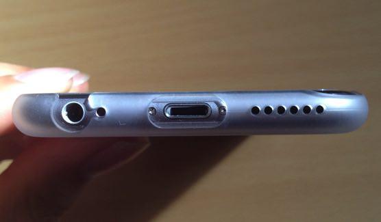 パワーサポート iPhone6エアージャケットセット(クリアマット)Air Jacket set PYC-70購入レポート 下側