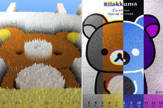 iPhoneカメラアプリ「Filters」フィルター例