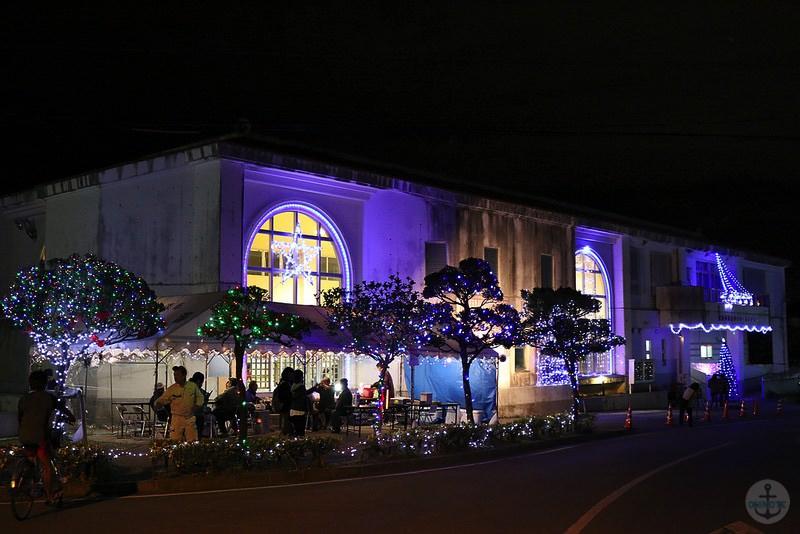 沖縄浦添市経塚のイルミネーション